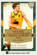 2012 Select AFL Future Force Cards All Australia Team Card AA5 Jesse Hogan