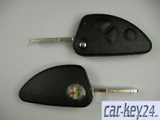Alfa Romeo 147 156 Gt Chiavi Anello 3 Pulsante Telecomando Chiave Pieghevole Ke