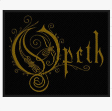 OPETH - BAND LOGO - WOVEN PATCH - BRAND NEW - MUSIC 2954