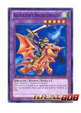 YUGIOH x 3 Alligator's Sword Dragon - LCJW-EN056 - Common - 1st Edition Near Min