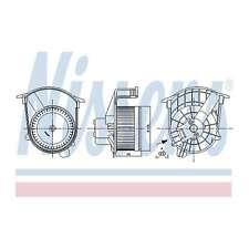 Fits Nissan NV400 2.3 dCi RWD Genuine Nissens Interior Heater Blower Motor Fan