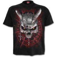 Spiral Direct NEVER TOO LOUD T-Shirt/Goth/Vampire/Skull/Rock/Pentagram/Top/Tee