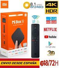 ORIGINAL. Xiaomi Mi Box S TV Box 4K Ultra HD 2GB 8GB Android 8.1 Quad Core Negro