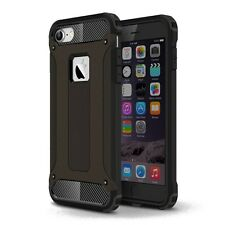 Black Luxury Armour Case for iPhone 8 7 Shock Proof Hybrid Back Cover