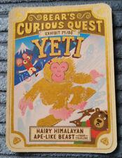 BEAR YOYO LOST & LEGENDARY SHINY RARE GOLD CARD 71/80 YETI CURIOUS QUEST