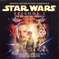STAR WARS EPISODE 1:THE PHANTOM MENACE(ORIGINAL SOUNDTRACK/JOHN WILLIAMS CD NEU