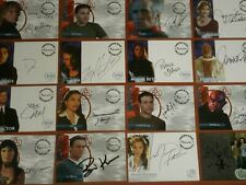 CHARMED The Original Series Autograph / Relic / Foil Chase / Promo Trading Cards