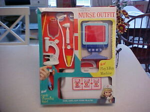 1967 Date Transogram Little Play NURSE OUTFIT Kit Play Set MIB Never Opened!!!!!