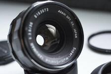 Asahi Pentax Takumar M42 35mm F3.5 SMC Objektiv Lens + rare Original Lens Hood