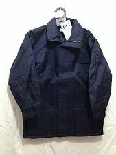BNWT Boys/Girls Sz 4 LWR Brand Waterproof Polar Fleece Lined Navy Blue Rain Coat