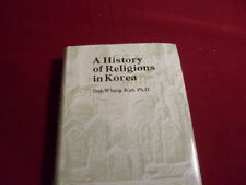 81441 Kim *A HISTORY OF RELIGOINS IN KOREA* HC +Gol TOP