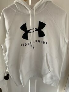 Under Armour BRAND NEW WITH TAGS women' logo hoodie, Medium **see description**