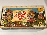 Vintage School Box Hansel & Gretel storage Empty