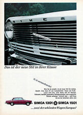Simca-1301-1501-1966-Reklame-Werbung-genuine Advertising-nl-Versandhandel