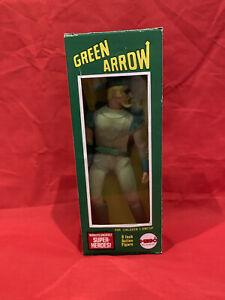 """Mego Green Arrow 8"""" Action Figure Boxed Rare"""