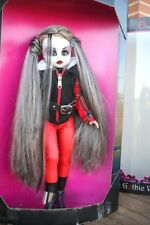 "Super Nice Gothic Vamp Doll. Xl 18""! Made In Spain (Endisa), Brand New In Box!"