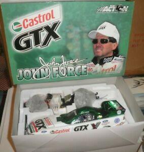 NHRA JOHN FORCE 2002 1/24 CASTROL GTX COLOR CHROME 1/1000