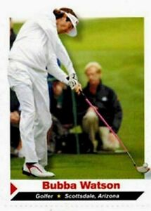 """BUBBA WATSON 2012 SPORTS ILLUSTRATED """"1ST EVER PRINTED"""" ROOKIE CARD #136!"""