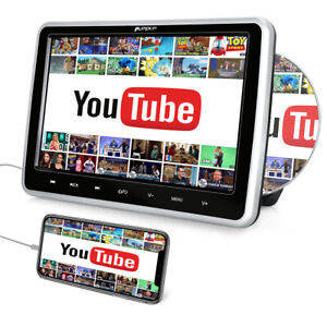 10.1 Zoll Auto DVD Player Monitor TV Kopfstützen Headrest HDMI USB SD für Kinder
