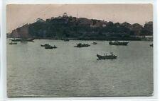 Chefoo Harbor Yantai Shandong China 1910c postcard