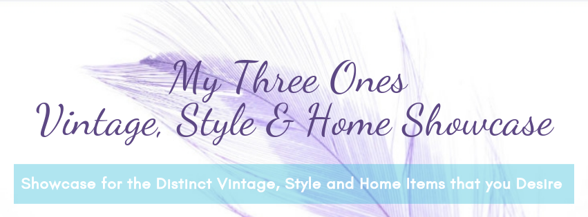 MyThreeOnes Vintage, Style and Home