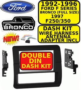 95-5701 METRA DOUBLE DIN CAR STEREO RADIO DASH KIT Ford F SERIES & Bronco 92-97