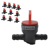 """10x 1/4"""" In-Line Straight Fuel Gas Shut-Off  Valves for HONDA ENGINES Motorcycle"""