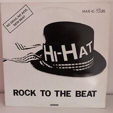 "MAXI 12"" HI HAT Rock to the beat 8984"
