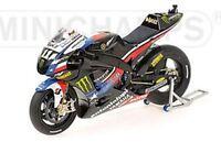 MINICHAMPS 123 103111 YAMAHA YZR M1 bike Ben Spies MotoGP Laguna Seca 2010 1:12