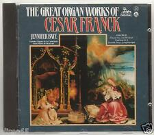 FRANCK GREAT ORGAN WORKS JENNIFER BATE CD
