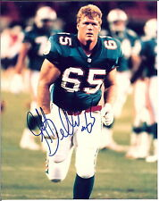 MIAMI DOLPHINS JEFF DELLENBACK (2 ) AUTOGRAPHED  8 X 10 COLOR PHOTO  !!!