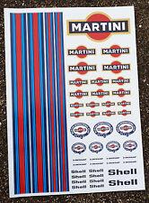 RC Martini Stickers Decals Mardave Kyosho Tamiya HPI