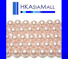 50pcs Swarovski Crystal Beads Pearl 5810 6mm ROSALINE