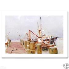 SAFE HARBOR BY PINO, SIGNED/NUMBERED/COA, 21/295, GICLEE ON PAPER