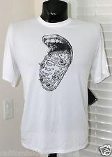 NIKE Challenger Tongue Running T-Shirt sz 2XL XX-Large White Run Max 2013 NEW