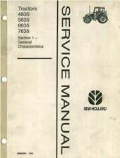 NEW HOLLAND TRACTOR 4835 5635 6635 7635 SERVICE MANUAL
