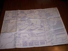 Vtg 1950s Woodworking Patterns ~ 2 Hobbycraft Blueprints- 5 other blueprints