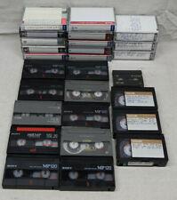 Lot of 14 Camcorder Tapes 8mm VHS-C Mini DV Video Tapes Recording Sony Fuji TDK