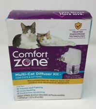 New listing Comfort Zone Calming Diffuser Kit for Multiple Cats (1-1 Mi)