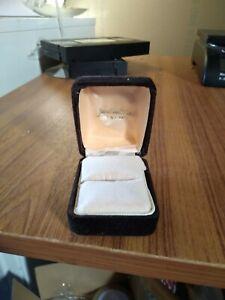 Vintage James Walker Jewellery Ring Box