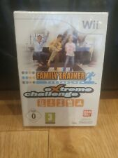 Family Trainer Extreme challenge game only nintendo wii NEW