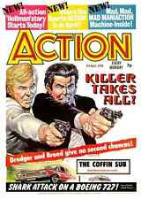 British Violent Comics Action & The Crunch on DVD-Rom 150 Isues w/software
