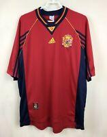 VINTAGE NATIONAL TEAM SPAIN 1998/1999 HOME JERSEY SHIRT CAMISETA FOOTBALL SOCCER