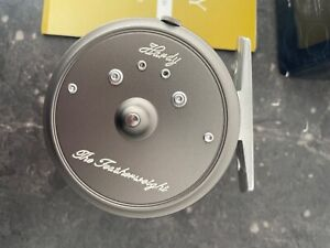 Hardy Featherweight Fly reel.brand new in box with pouch and papers.