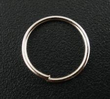 400Pcs Silver Tone Open Jump Rings 10x0.7mm Wholesale SP0053