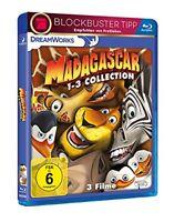 °MADAGASCAR 1 BIS 3° 3 BR Collection Edition mit vielen Stunden Bonusmaterial
