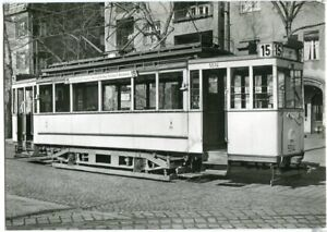 AK BERLIN  Straßenbahn 15 von Neukölln nach Marienfelde 50/60er Ja.