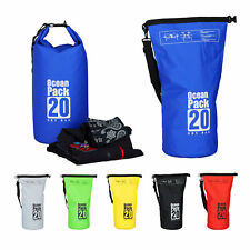 Ocean Pack 20 L Seesack Strandtasche Dry Pack Survival Bag wasserdicht Outdoor