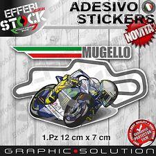 Adesivo Sticker MUGELLO CIRCUIT Love Italy Moto GP SBK H.QUALITY !