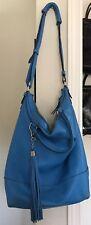 diane von furstenberg Peacock Blue Large Handbag Adjustable Straps